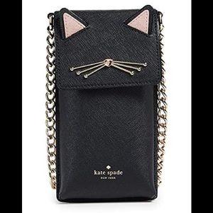 Kate spade  cat phone bag